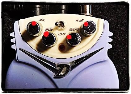 Danelectro Dan-Echo Pedal Settings