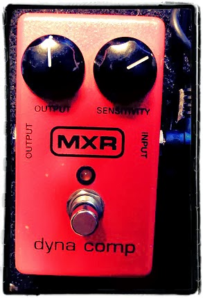MXR Dyna Comp Compressor Settings