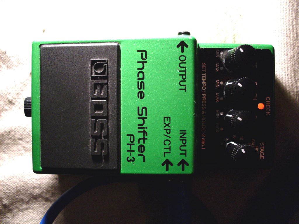 Phaser Pedal (6)