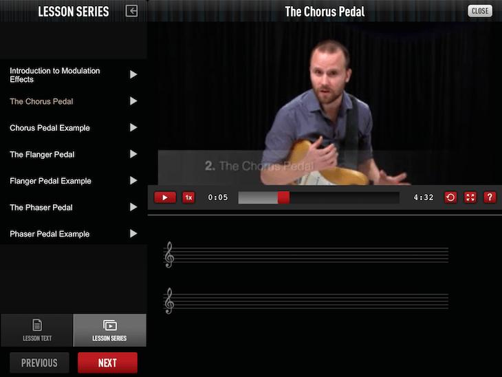 Guitar Tricks iPad App