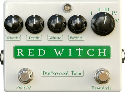 Red Witch Pentavocal Guitar Pedal