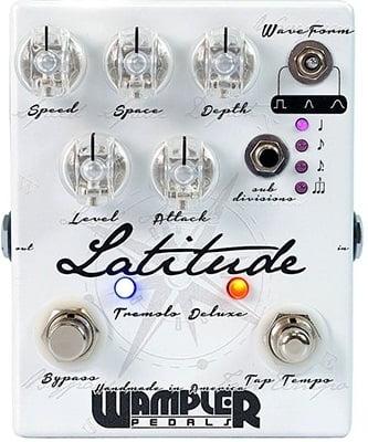 Wampler Latitude Deluxe Tremolo Guitar Pedal