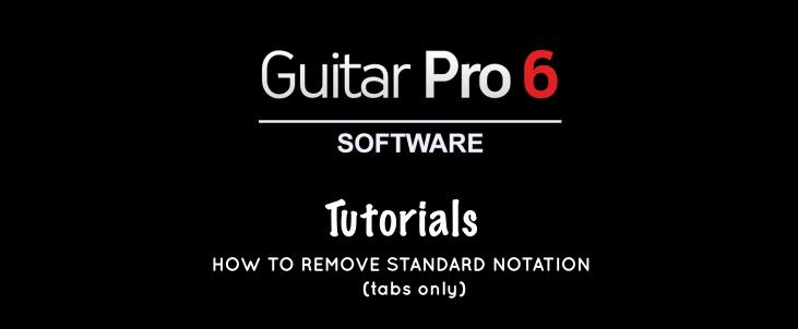 Guitar Pro 6 Tutorial