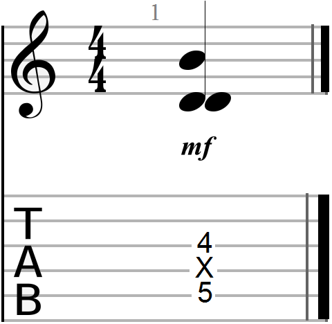 Dyadic Chord Shape