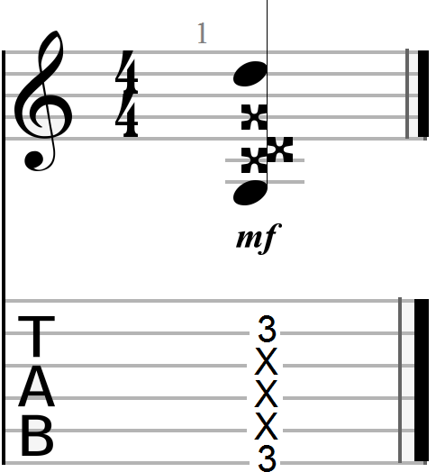 Fourth Dyadic Chord (compound interval)