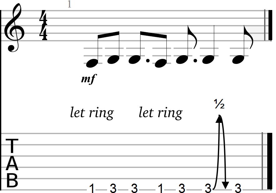 Key of G Chord Progression (root notes only)