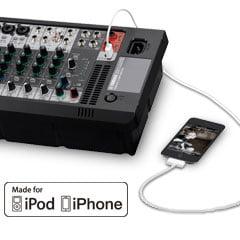 iPhone to Yamaha Mixer Connection