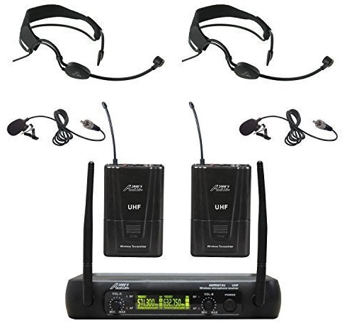 Audio 2000s Wireless Microphone System
