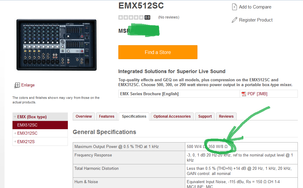 EMX512SC Info