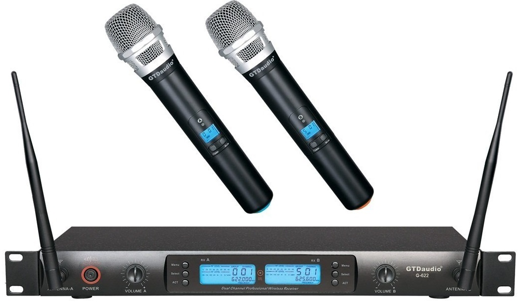 GTD Audio Wireless Microphone System
