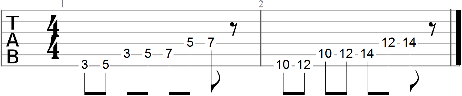Guitar Exercises 116
