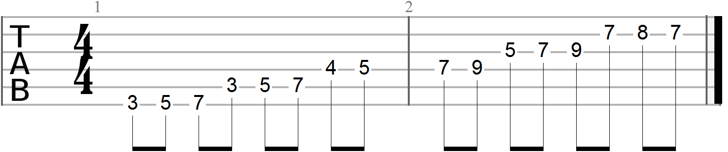 Guitar Finger Exercises (91)