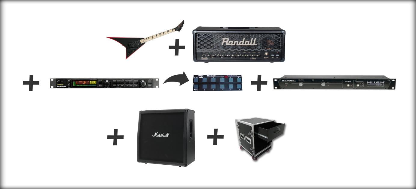 Guitar Rack System Setup Rig Example (4)