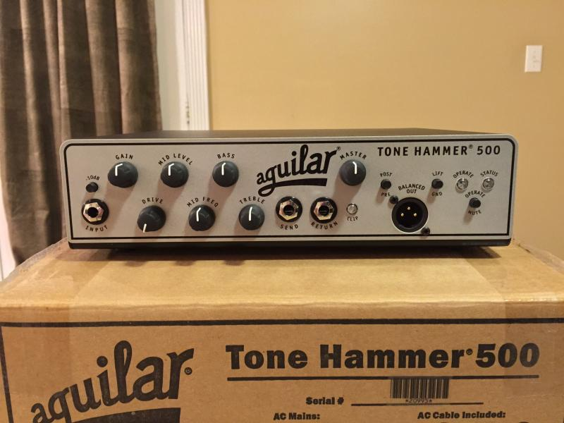 Aguilar Tone Hammer Bas Amp Head (unboxing)