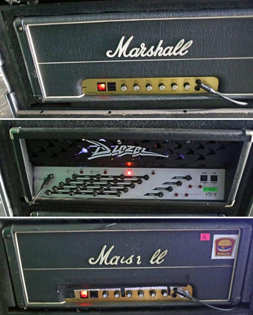 Brent Hinds Amplifiers in 2014