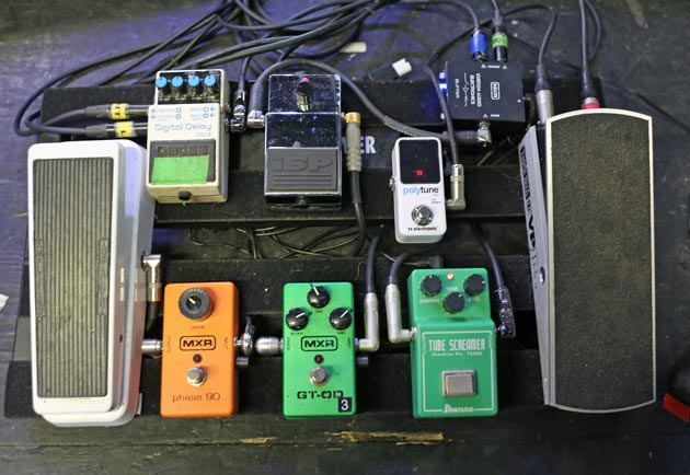 Brent Hinds Pedalboard