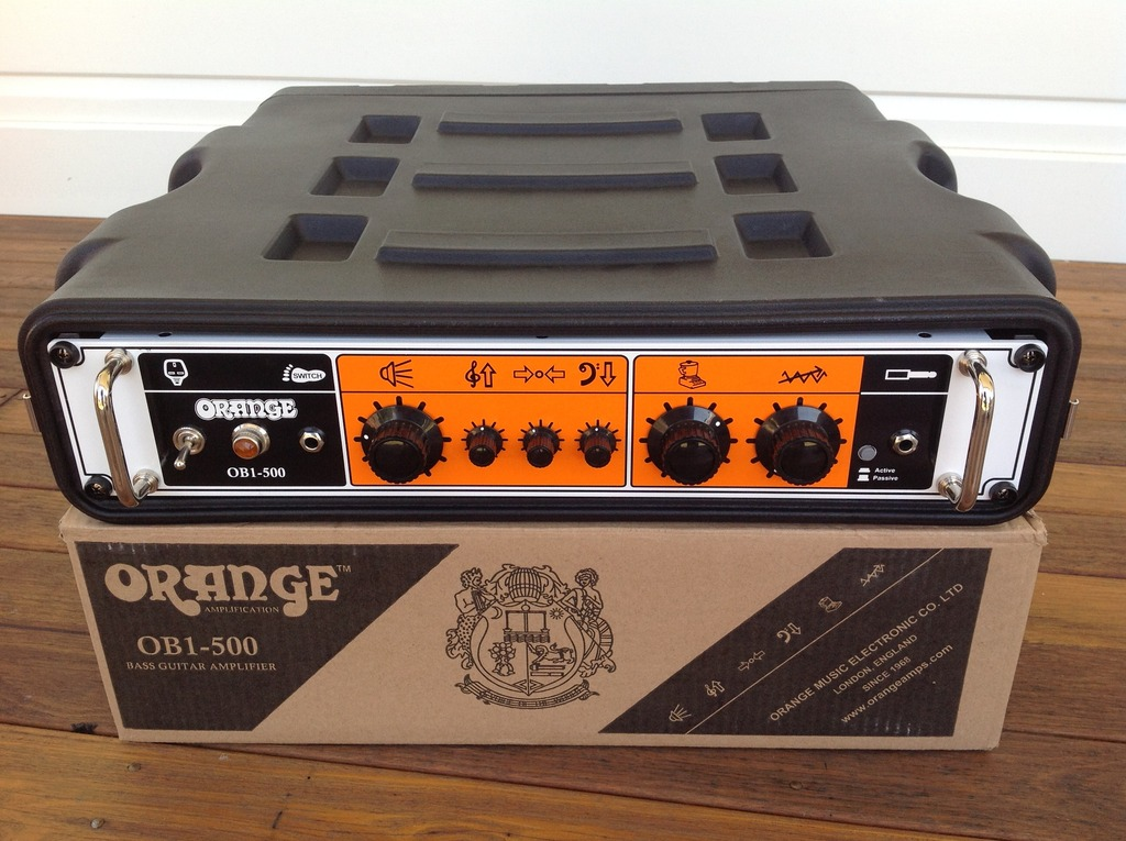 Orange OB1-500 Amp Head Unboxing