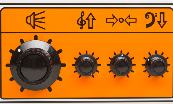 Orange OB1 500 Bass Head EQ Controls