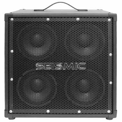 Siesmic Audio Bass Speaker Cab