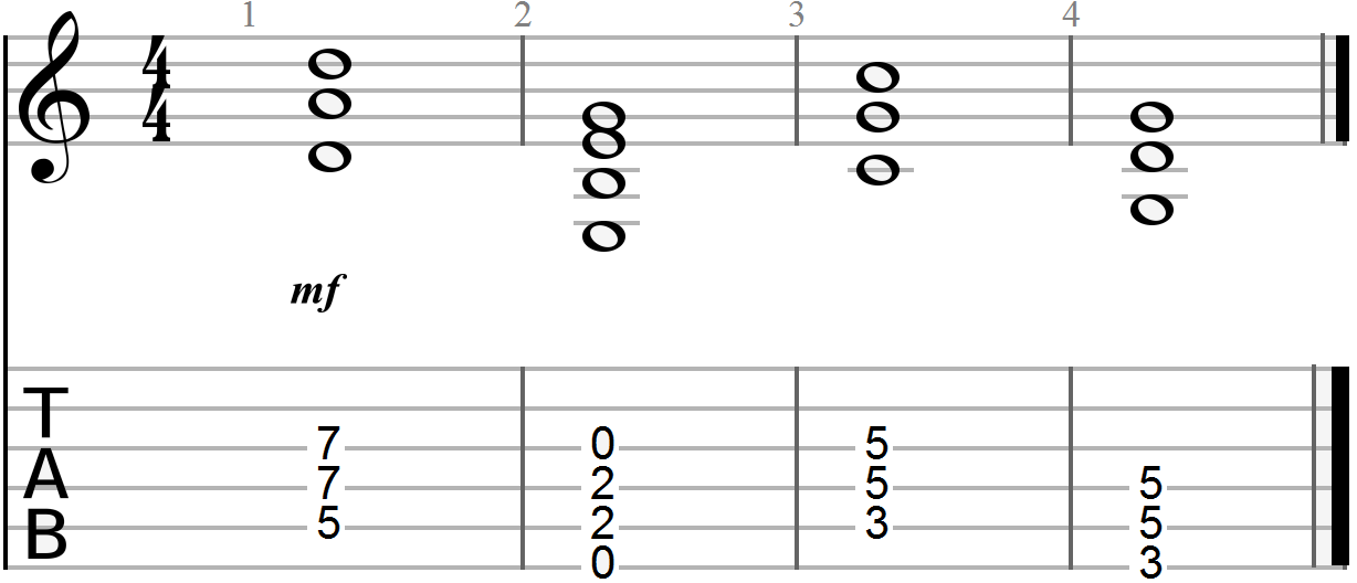 how to play a bm chords