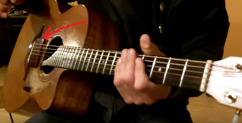 Overdrive for Acoustic Guitar Bridge Pickup