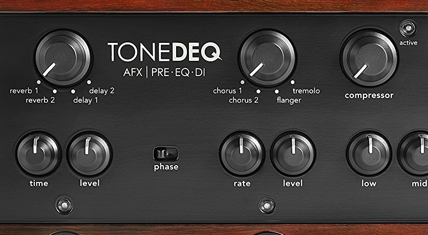 Effects on the ToneDEQ Acoustic Guitar Pedal