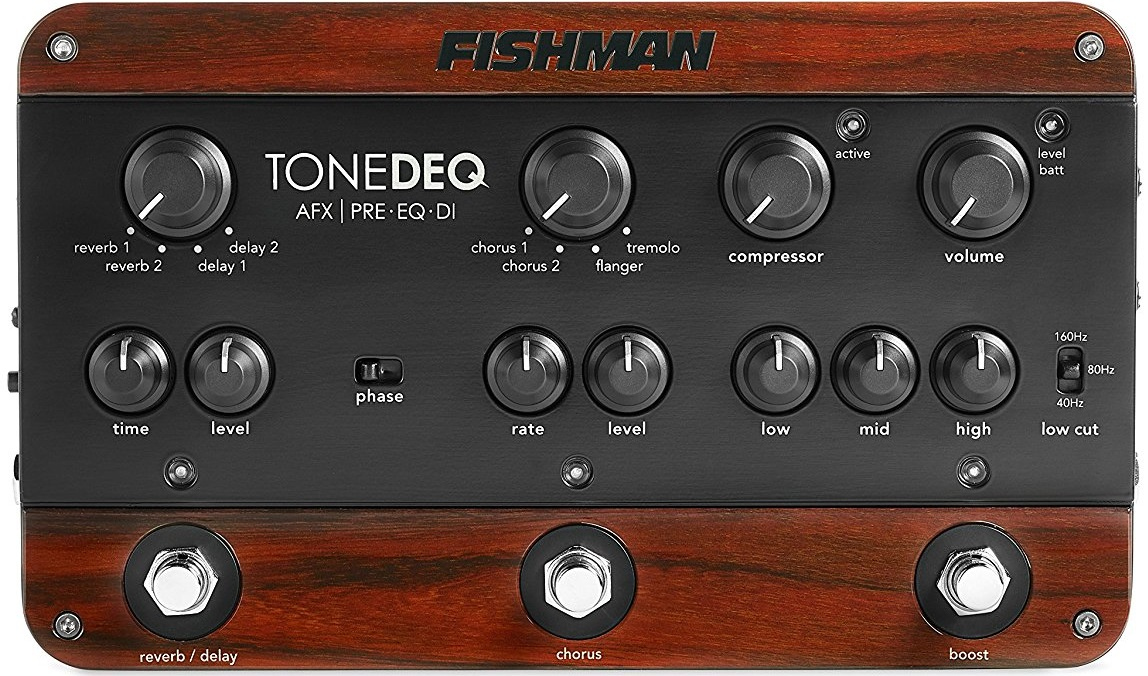 Fishman ToneDEQ Acoustic Guitar Preamp