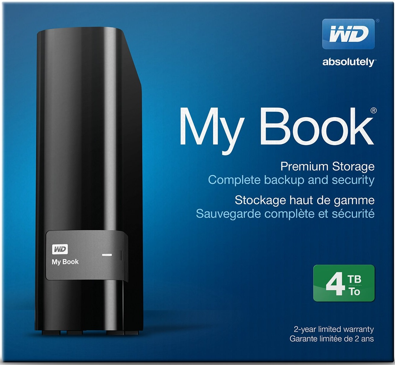 Western Digital 4TB External Hard Drive