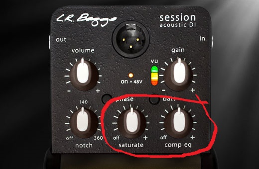 LR Baggs Session DI Acoustic Preamp