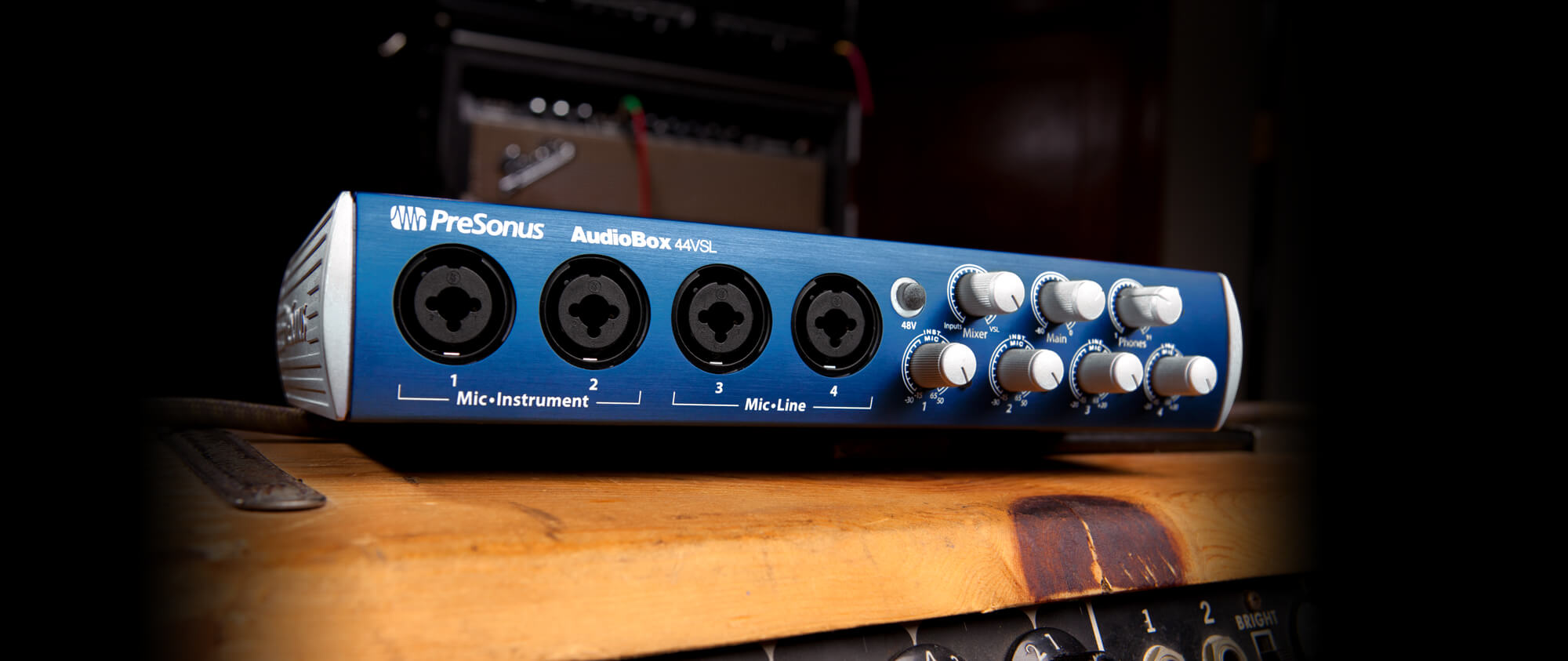 Larger Version of the PreSonus AudioBox