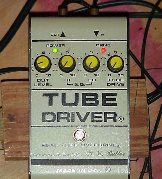 Eric Johnson Tube Driver Overdrive Settings