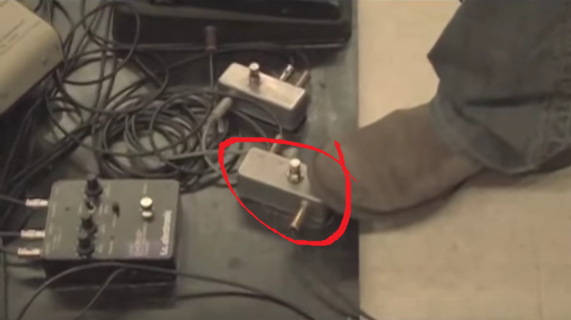 Master AB Switch on Eric Johnson's Pedalboard