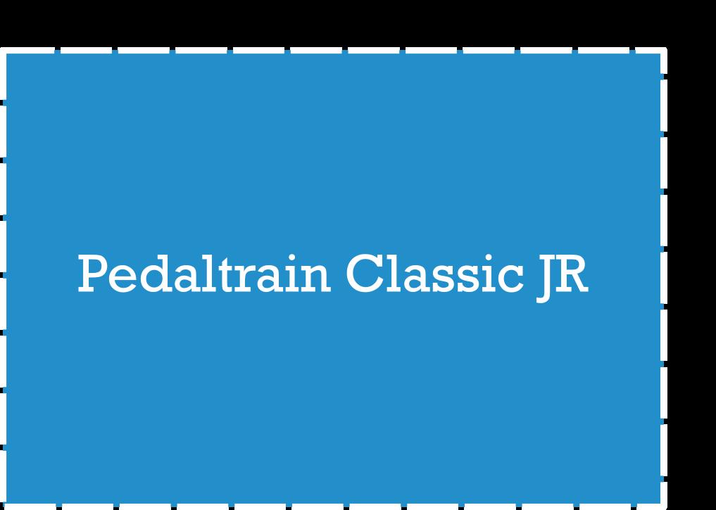 Pedaltrain Classic Jr Pedalboard Dimensions