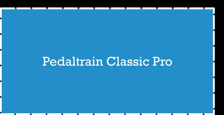Pedaltrain Classic Pro Pedalboard Dimensions