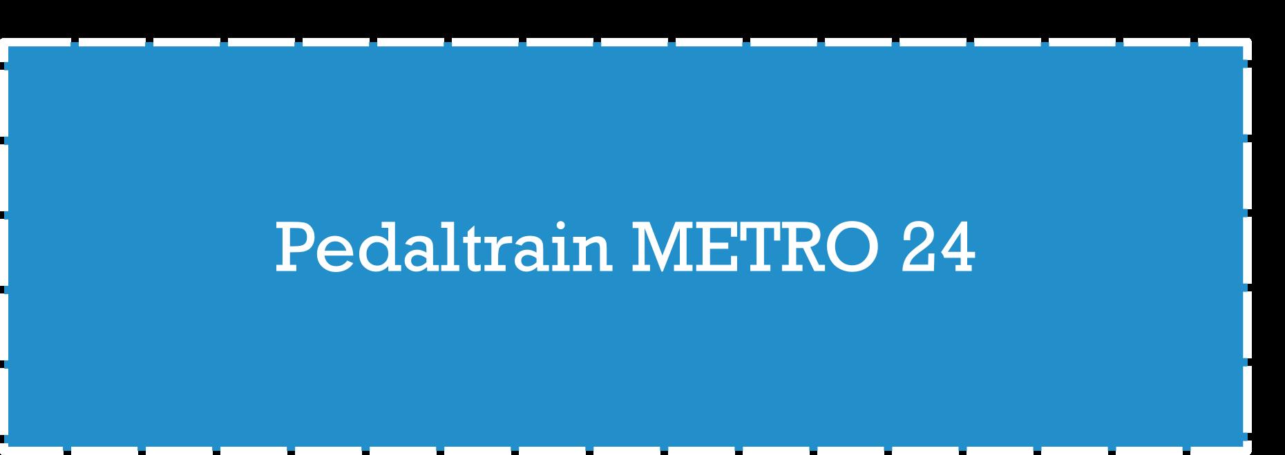 Pedaltrain Metro 24 Pedalboard Dimensions