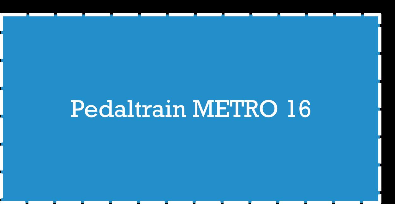 Pedaltrain Metro Plus Pedalboard Dimensions