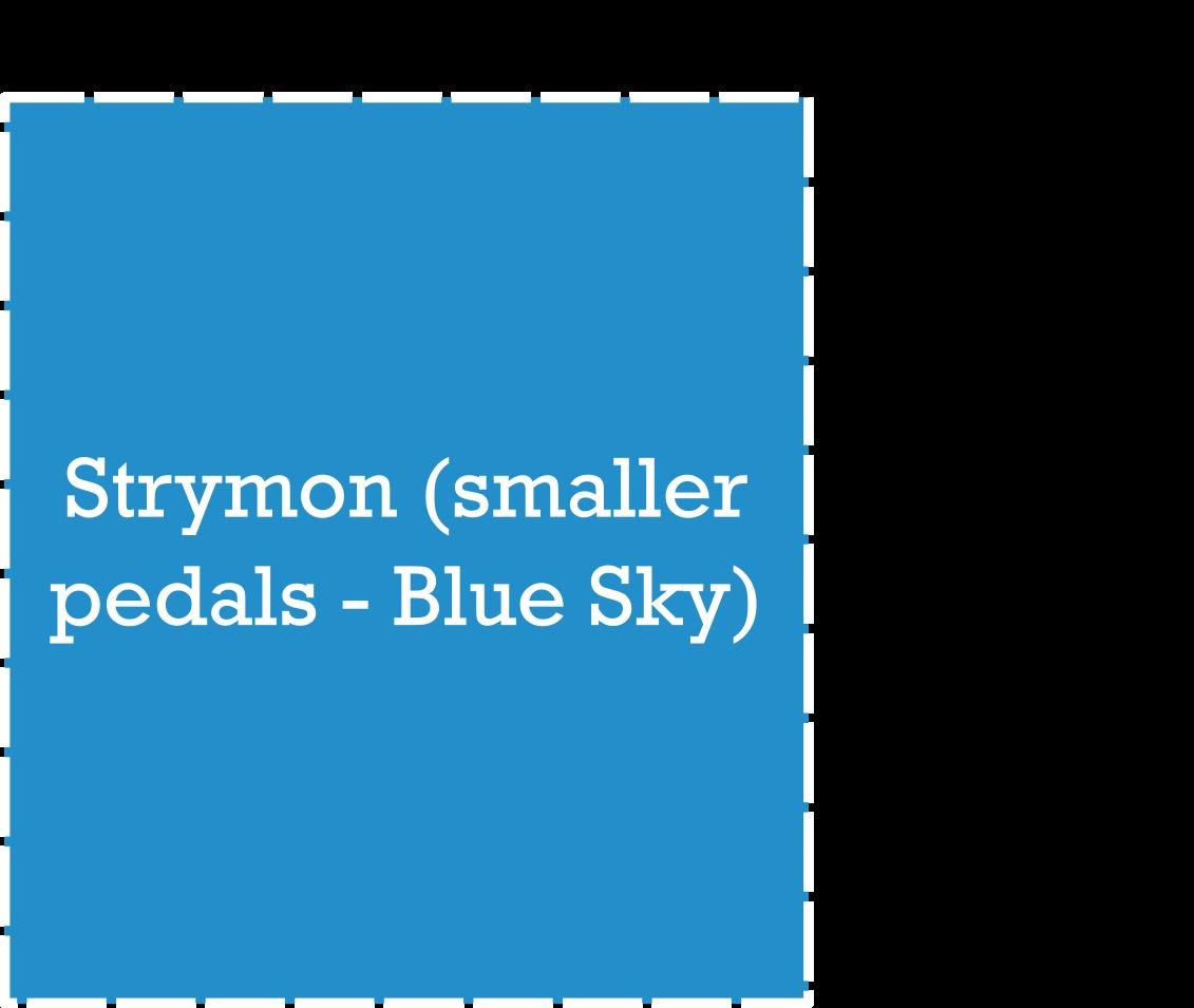 Strymon Pedal Dimensions