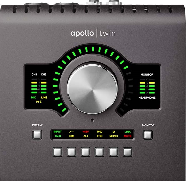 Apollo Twin MKII Thunderbolt Audio Interface