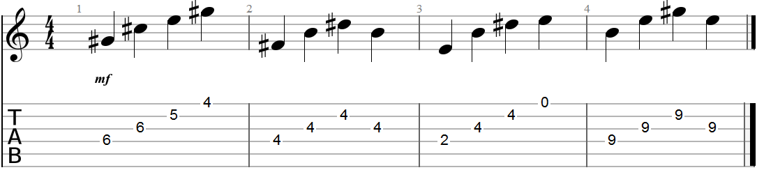 Arpeggiated Chord Progression