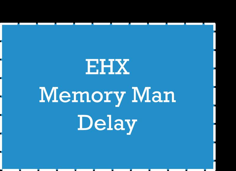 EHX Memory Man Dimensions