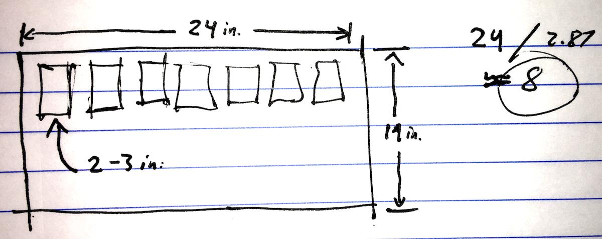 Pedalboard Planner Sketch