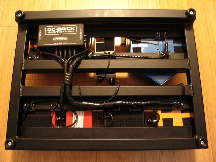 Pedalboard Power Supply Mount