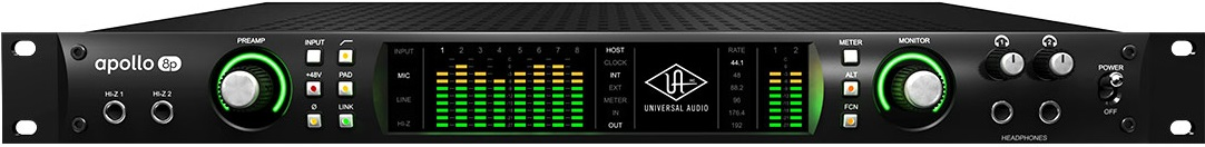 Universal Audio Apollo 8P Thunderbolt Audio Interface