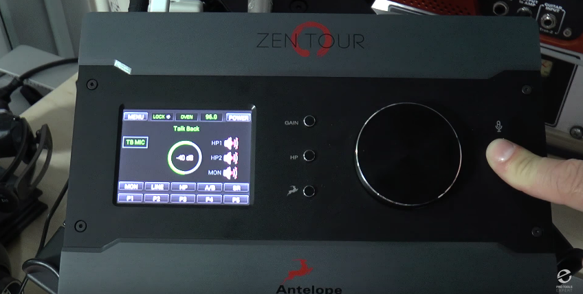 Zen Tour Talkback Button and Functionality