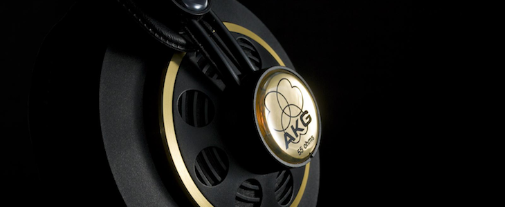 AKG Headphones to Pair with Bass Guitar Banner (clipped)