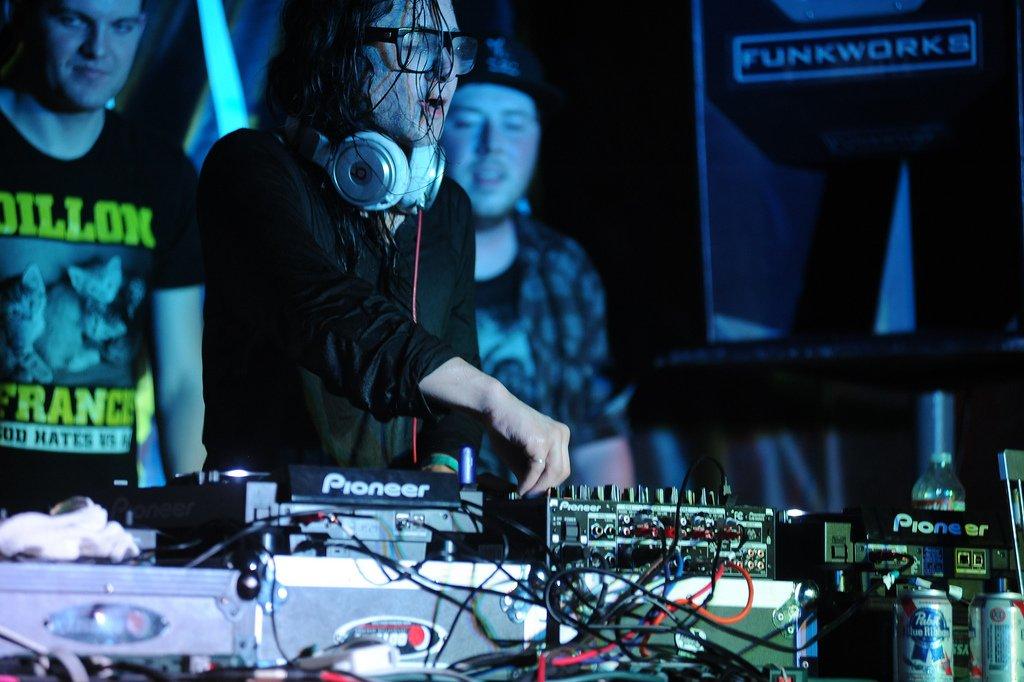 Skrillex Live