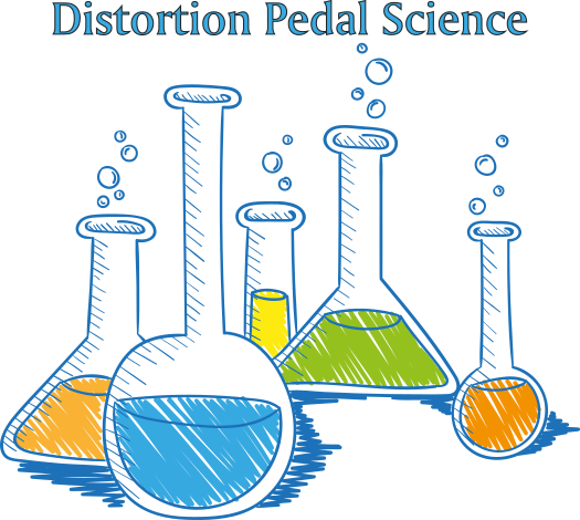 Distortion Pedal Graphic