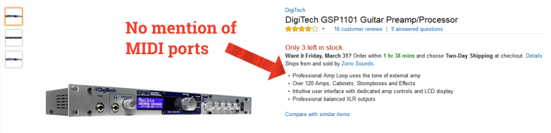 Effects Processor on Amazon
