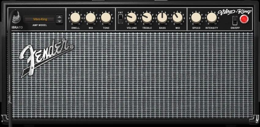 Fender Amp Settings Example