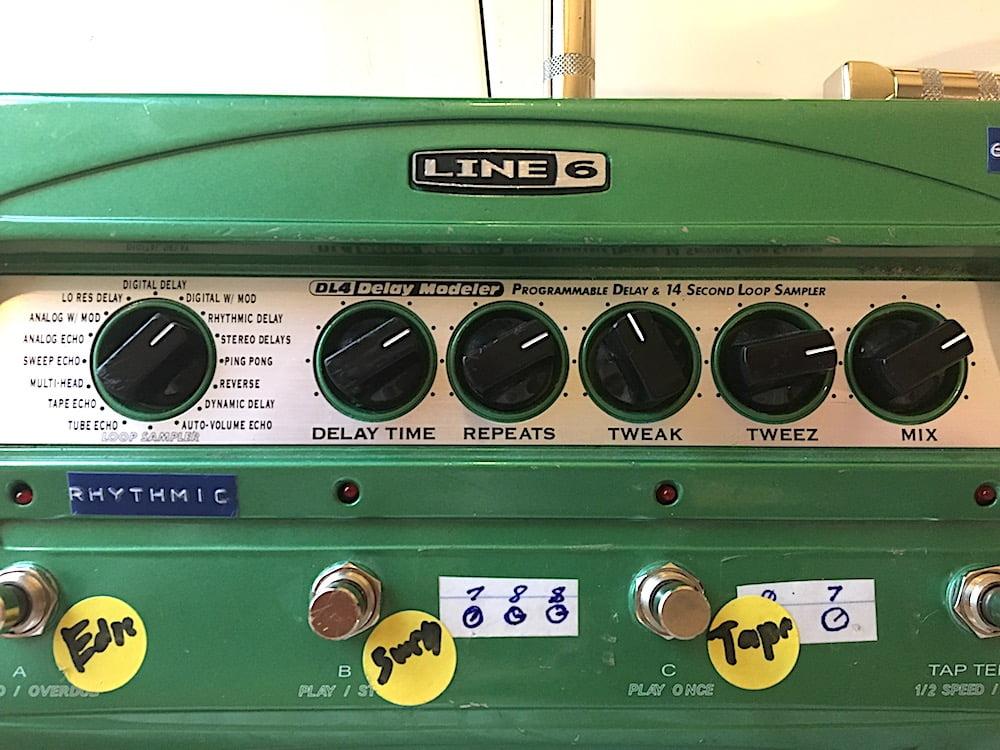 Line 6 DL4 Delay Settings 2